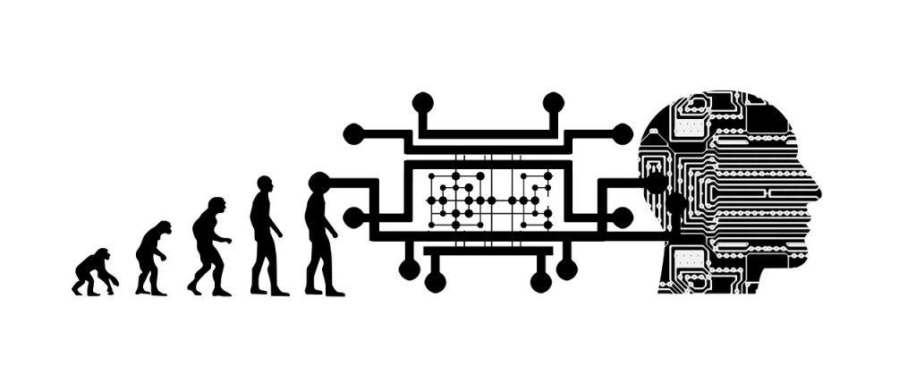 evolution, artificial intelligence, brain